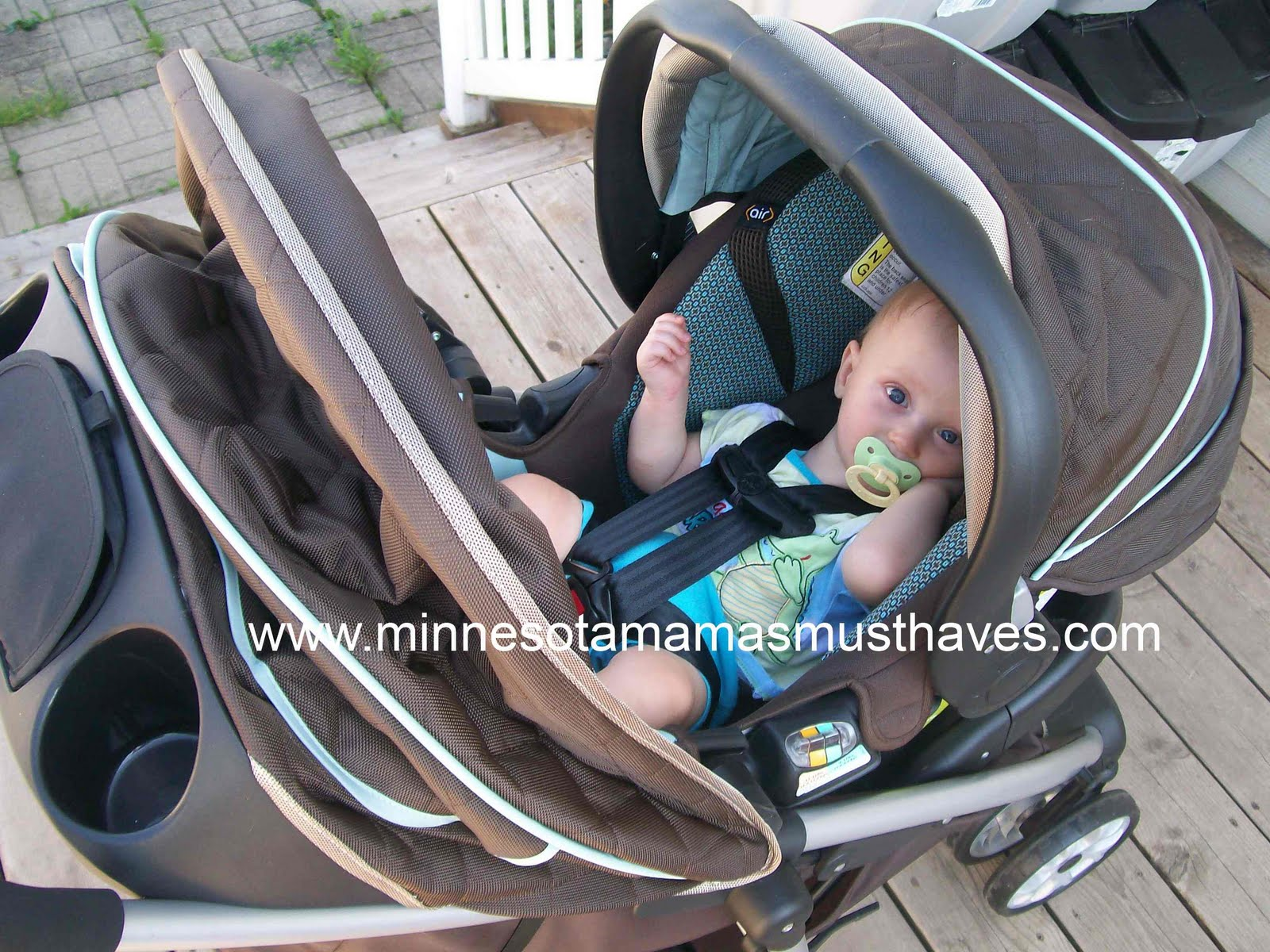 Summer Sizzle! Safety 1st Aerolite Travel System Review & Giveaway ...