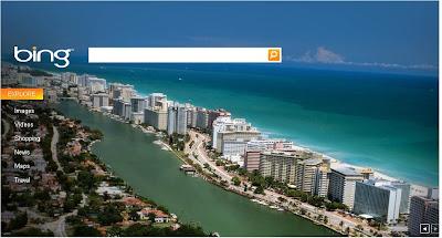 Bing Background image Miami