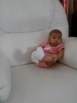 Eryna @ 4-month (5.1kg)