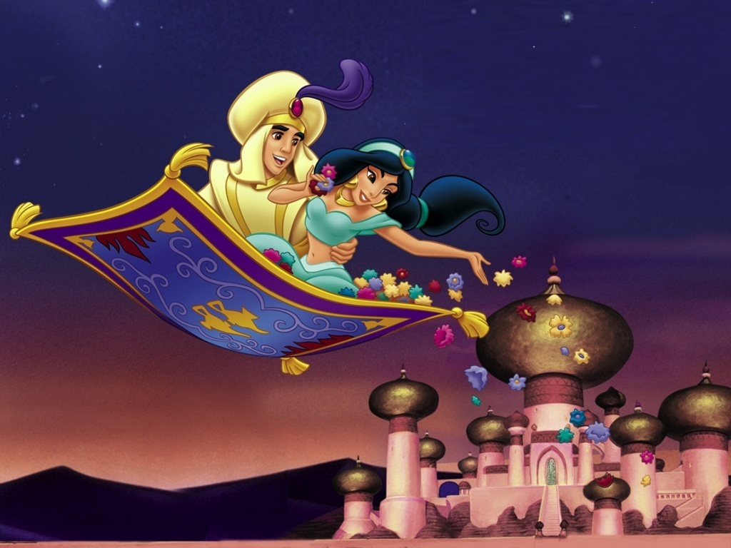 Aladdin and the King of Thieves Wallpaper