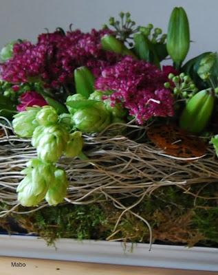 Blumendeko Herbst mabo blumendeko im herbst mit anleitung
