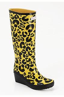 leopard print wellingtons,leopard print wedge boots