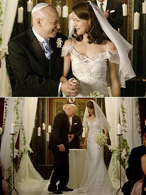 wedding dress from sex and the city worn by charlotte on her second marriage