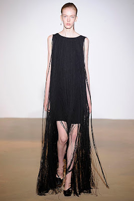 jil sanger fringe dress