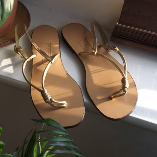 hand crafted leather sandal
