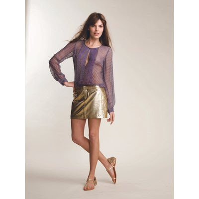 antik batik mini skirt