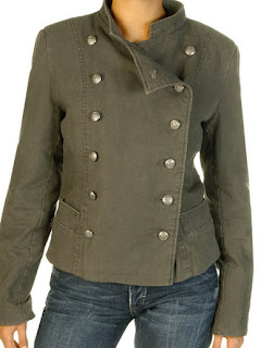 military style jacket by Nastrovje Potsdam
