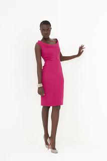 designs by Martin Grant, sleek dress