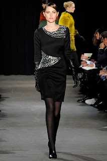 embellished shift dress from Thakoon Panichgul fall 09ready to wear collection