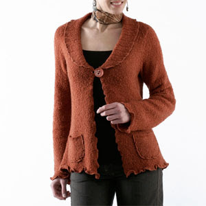 Ladies Knitwear Autumn/ Winter 09/10, knit cardigan
