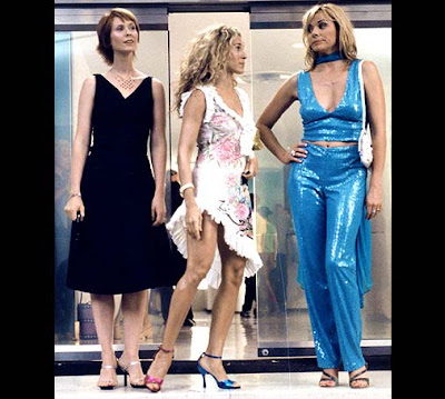 Sex and the City - Samantha Jones, Carrie Bradshaw and Miranda Hobbes