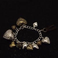 romantic gift, charm bracelet