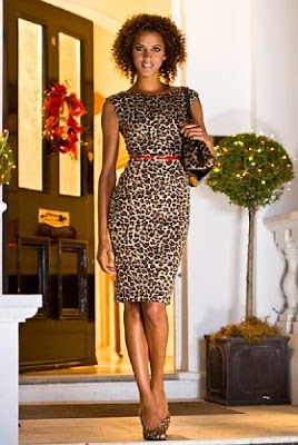 leopard print dress, animal print dress
