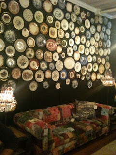 Birds of a feather interesting walls - Cool wall treatments ...