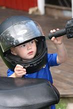 En liten moped-mupp