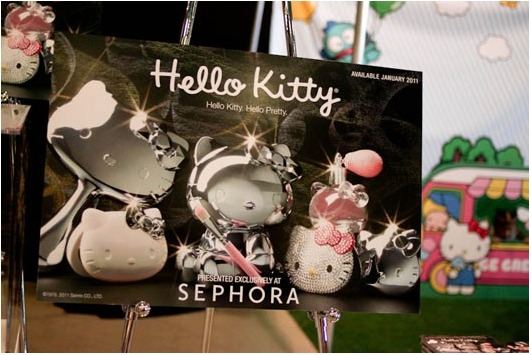 Hello Kitty Cosmetics Collection - Coming to Sephora in January 2011