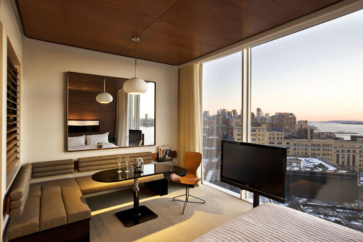 Work or shop standard hotel new york for Bedroom ideas nyc