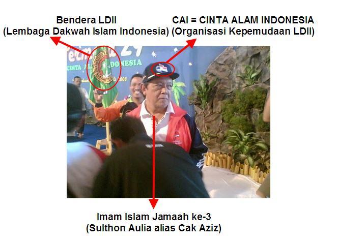 Imam ke-3, Sulthon Aulia / Cak Aziz  LDII = CAI = Islam Jamaah
