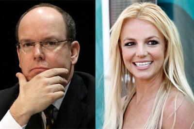 Alberto de Mónaco y Britney Spears