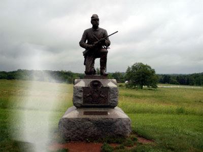 Fantasma en Gettysburg