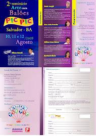 2o.seminário de arte com balões em Salvador