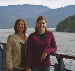Shauna and I in Alaska