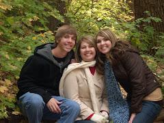 Devin, mom, and Krista