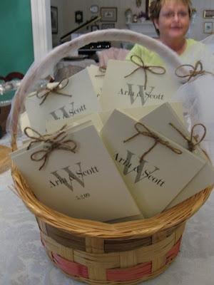 DIY Layered Wedding Programs