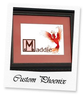enchanted names custom phoenix
