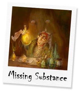 missing substance