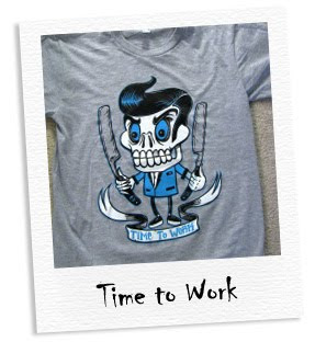 time to work tee