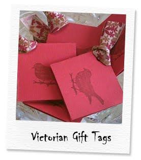 victorian bird tags