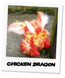 red chicken dragon
