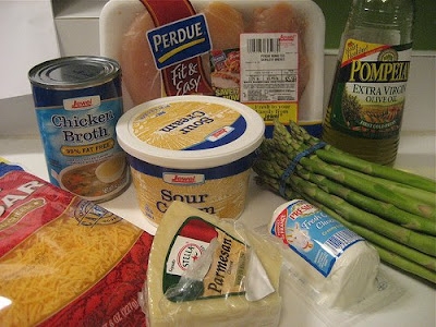 Elizabeth's Dutch Oven: Chicken & Asparagus with 3 Cheeses