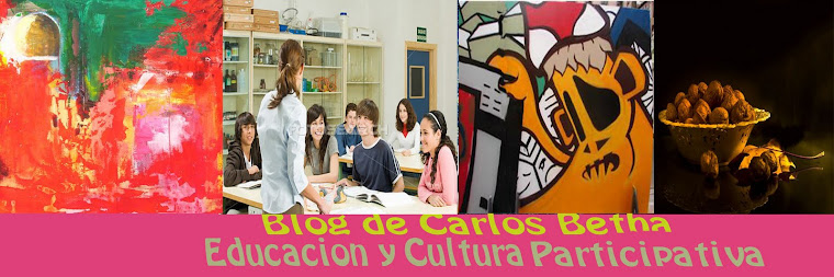 CARLOS BETHA EDUCACIÓN Y CULTURA PARTICIPATIVA