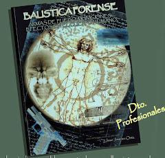 """""""Balística Forense"""" de      José Jiménez Ortiz"""
