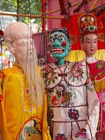 Chinese puppets - Telok Ayer Street