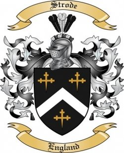 Strode coat of arms