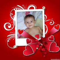 O Presente mais lindo que já recebí! Te amo meu filho!!!
