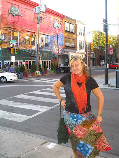 bandana patchwork skirt