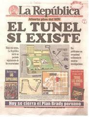 """FELONÍA DEL DIARIO """"LA REPÚBLICA"""" (VIERNES-7-MARZO-1997) - FECHA DEL RESCATE (22-ABRIL-1997)"""