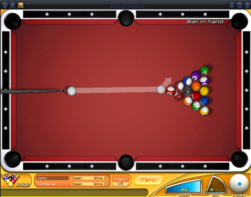 Billiards Pool Games
