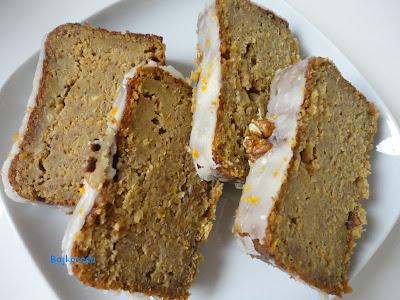 Ciasto orzechowo-mandarynkowe (bez glutenu)