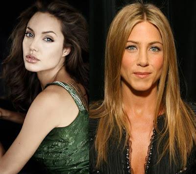 with Angelina Jolie.