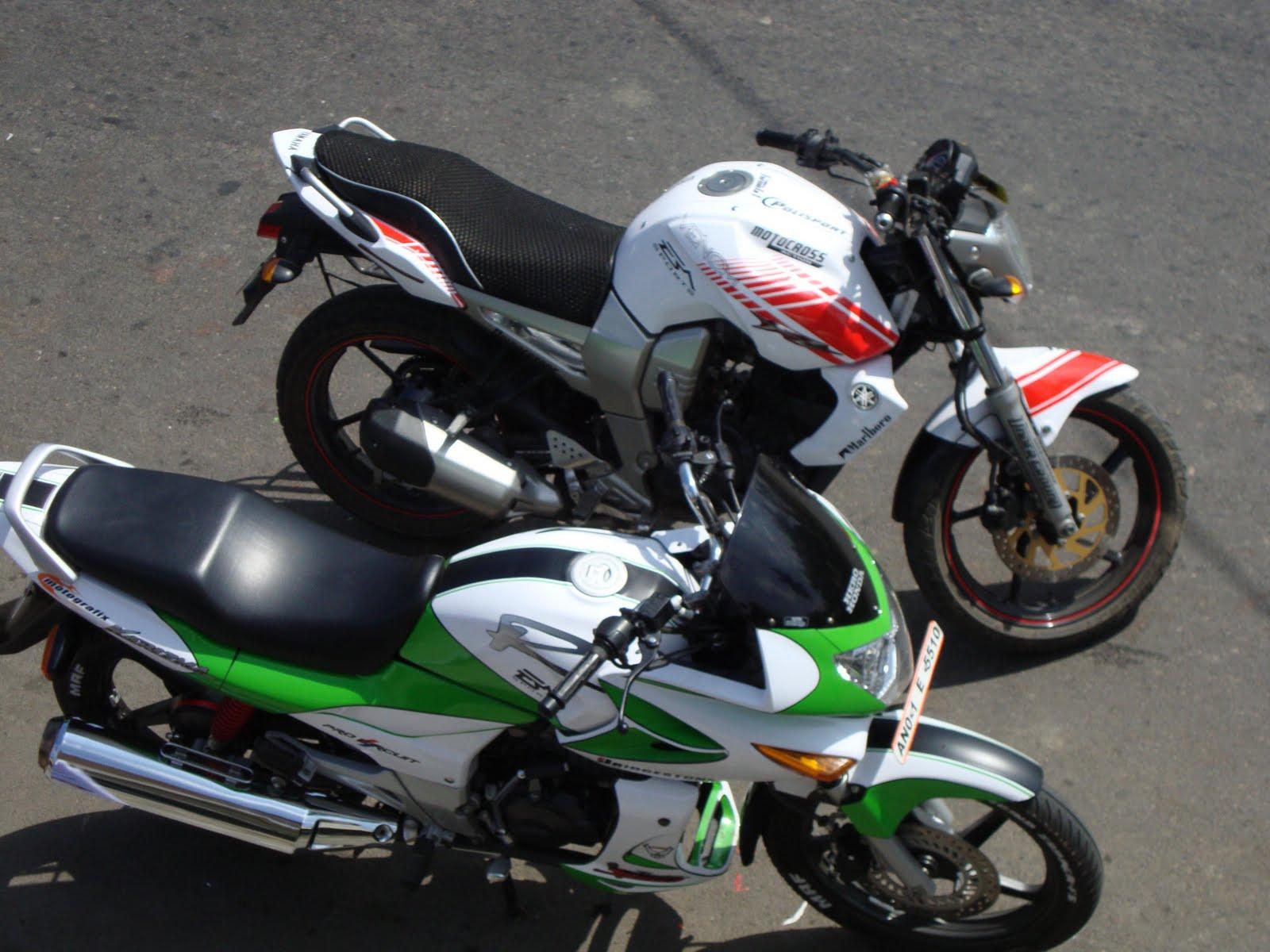 Bike Modified Graphics Modified Yamaha FZ - Amit das