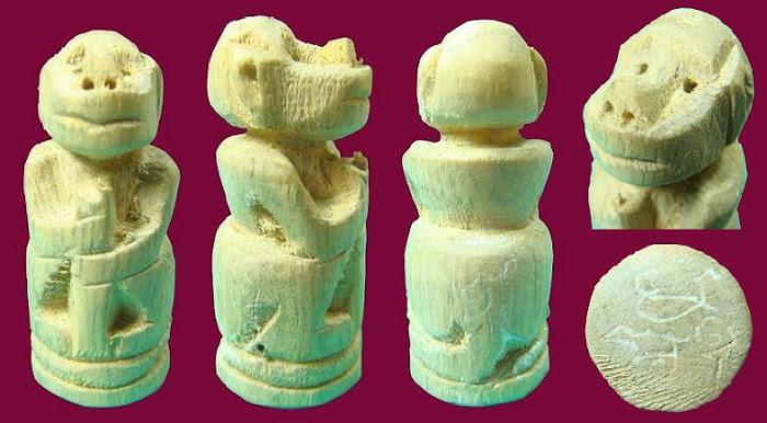 ลิงจับหลักรุ่นแรก หลวงพ่อชาญ วัดบางบ่อ
