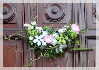 atelier d 39 art floral kain d coration de porte th me de. Black Bedroom Furniture Sets. Home Design Ideas