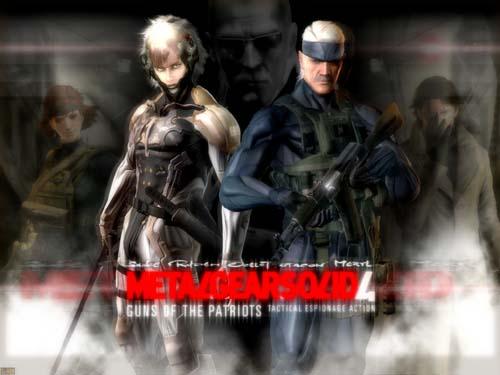 Metal Gear Solid 4(MGS4)特攻神諜劇情動畫