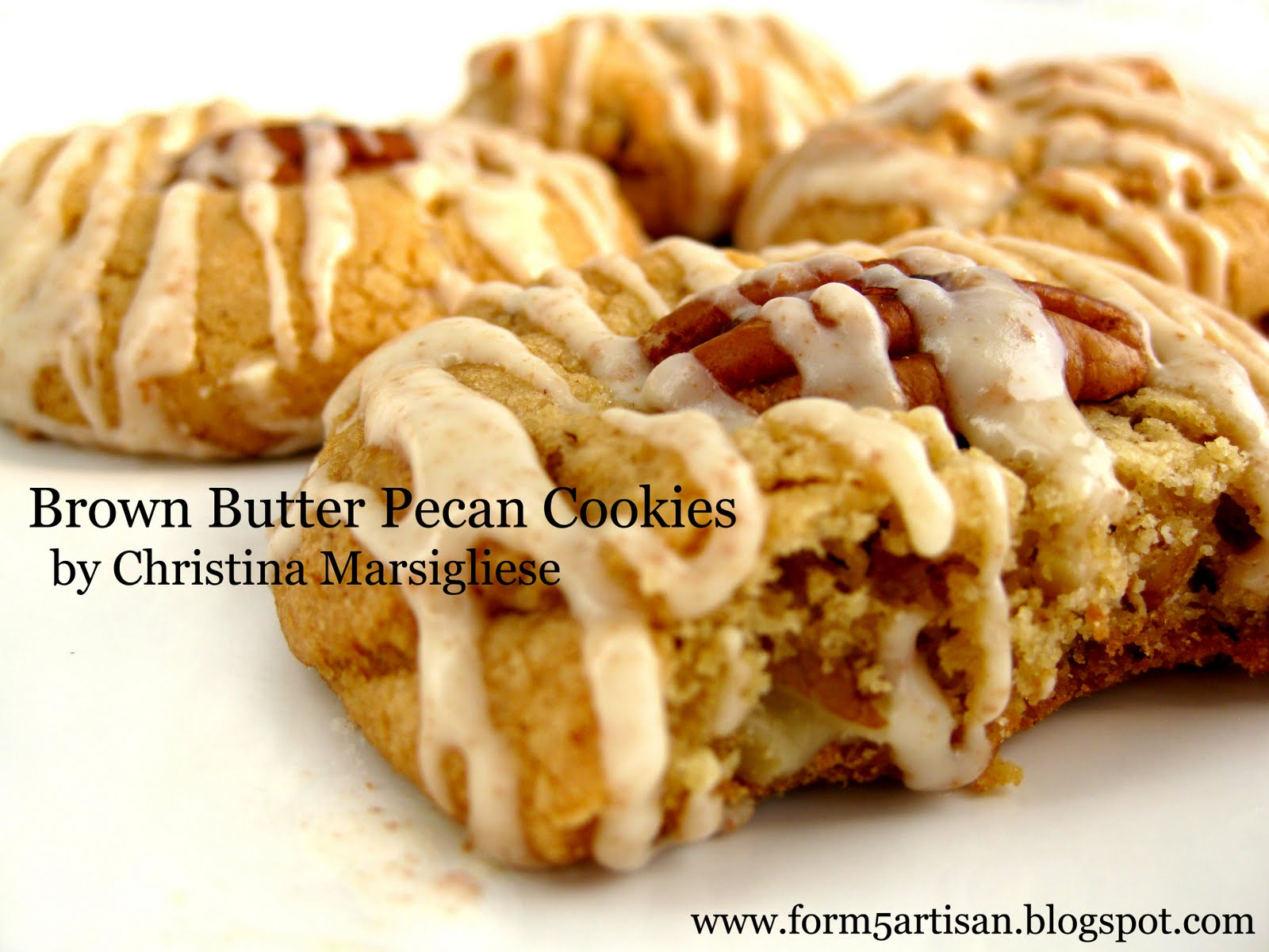 Scientifically Sweet: Brown Butter Pecan Cookies