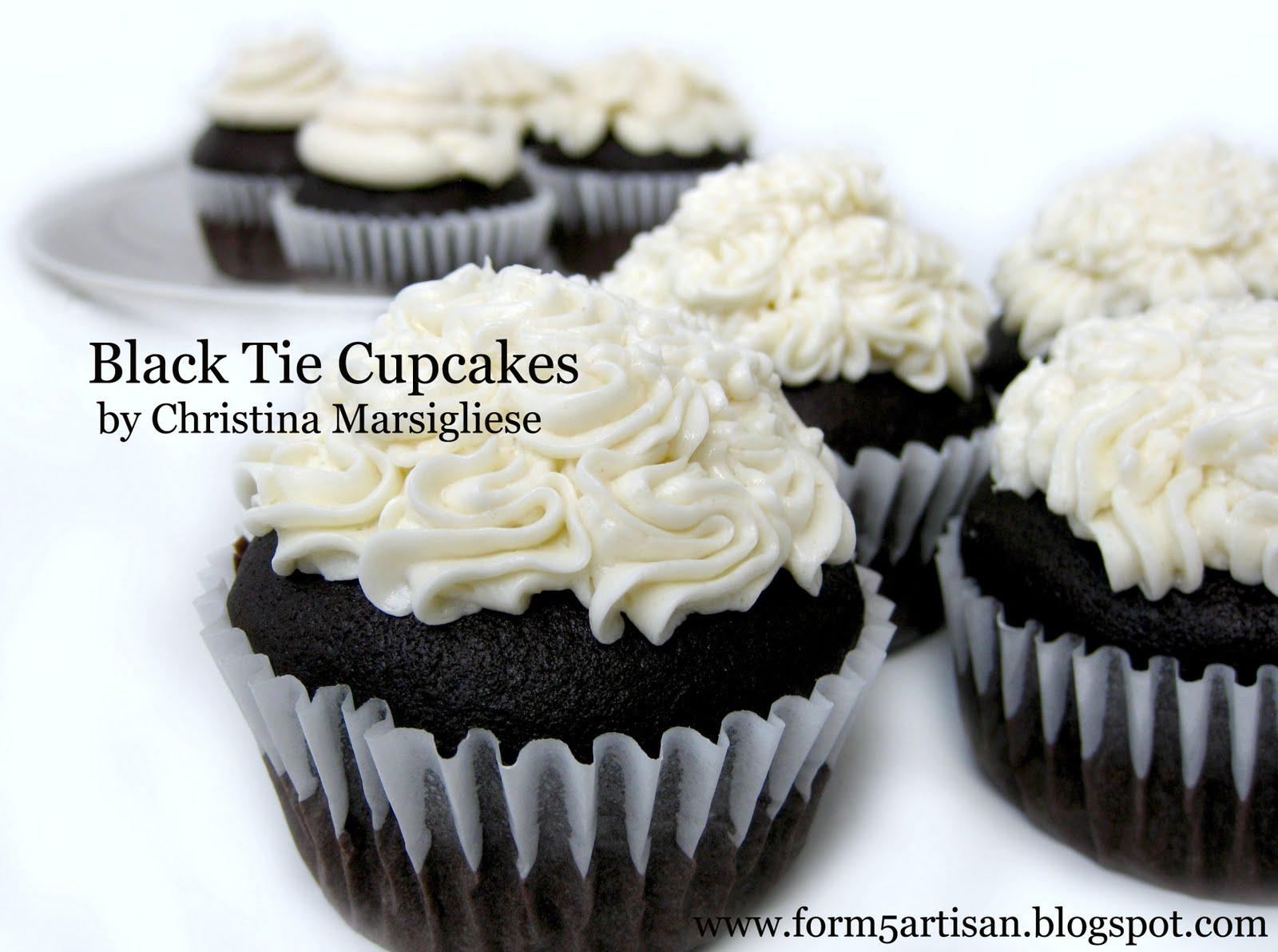 Scientifically Sweet: Black Tie Cupcakes